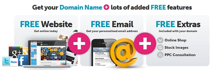 Free 1 year .uk with every .co.uk @ Names.co.uk